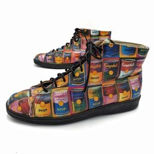 Icon Vintage Andy Warhol Campbell's Soup Boots